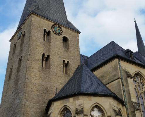 Kirchturm von St. Pantaleon