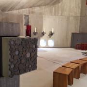 Tabernakel und Altarraum