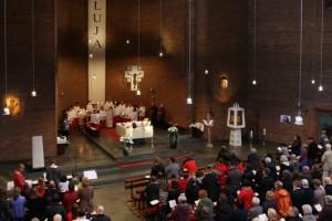 Gottesdienst in der St.-Stephanus-Kirche