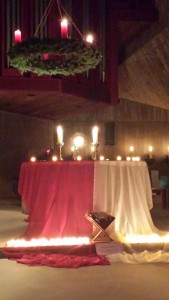 Weihnachten2015 - VersöhnfeierSt.Anna