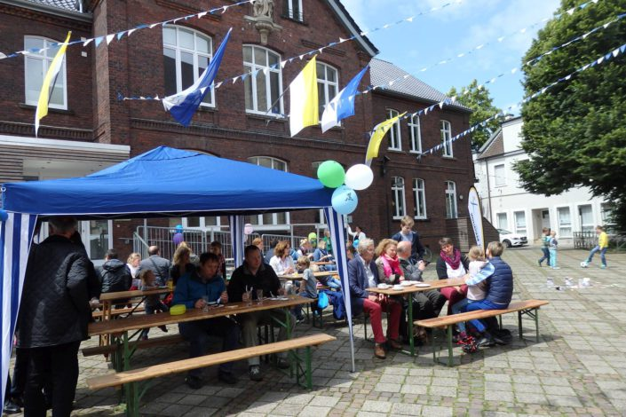 Großer Gemeindetreff in Roxel