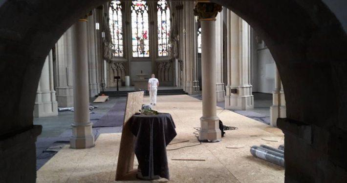 Sanierung der St.-Pantaleon-Kirche